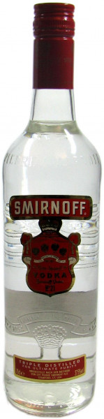 Smirnoff Vodka Red Label No.21 - 0,7l - engl. Ausstattung
