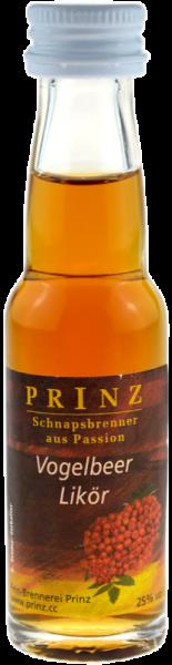 Prinz Vogelbeerlikör 0,02l Miniatur - Likör aus Österreich