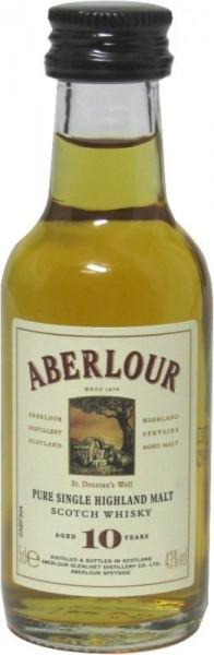 Aberlour 10 Jahre Miniatur