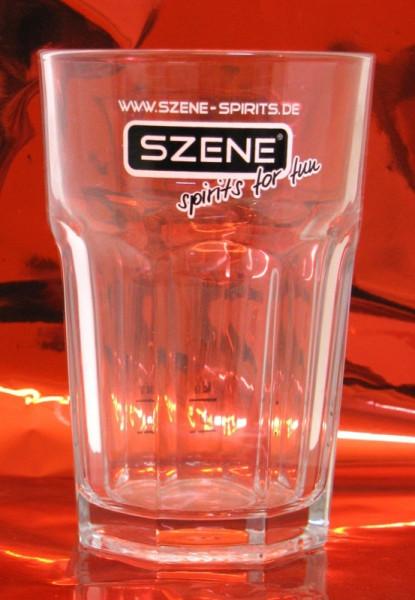 Szene Cocktail Glas