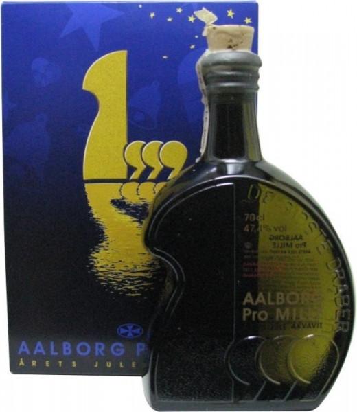 Aalborg Jule Akvavit Jahrgang 1999 - 0,7l - Sonderabfüllung incl. Geschenkpackung
