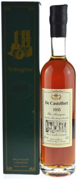 De Castelfort Armagnac Jahrgang 1935 - abgefüllt 2015 - 79 Jahre im Fass gelagert
