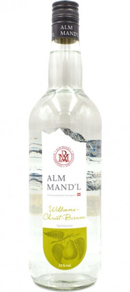 Prinz Alm Mandl Williams Schnaps 1,0l