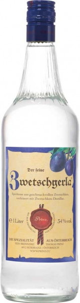 Prinz Zwetschgerla (Zwetschgenschnaps) 1,0l aus Österreich