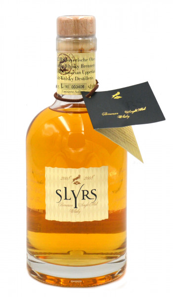 Rarität: Slyrs Jahrgang 2008 Bayer.Single Malt Whisky 0,35l