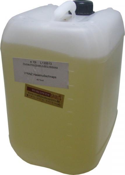 Prinz Haselnussschnaps 10 Liter Kanister Spirituose aus Österreich