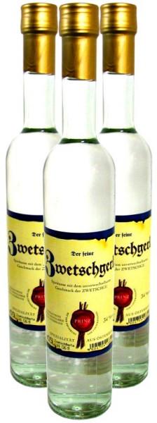 3 Flaschen Prinz Zwetschgerla ( Zwetschgenschnaps ) 0,5l aus Österreich