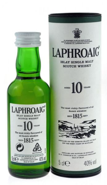 Laphroaig 10 Jahre Miniatur