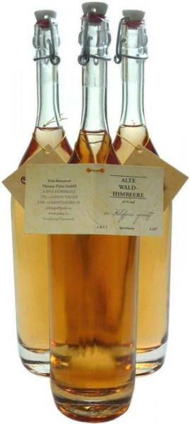 3 Flaschen Prinz Alte Waldhimbeere 0.5l - im Holzfass gereift aus Österreich