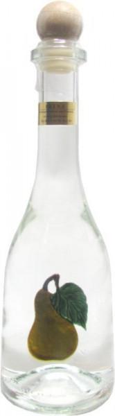 Prinz Williamsschnaps 0,5l Spirituose aus Österreich in Rustikaflasche mit Williams-Birnen-Fruchtmot