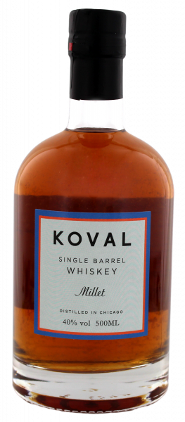 Koval Millet Single Barrel Whiskey 0,5l
