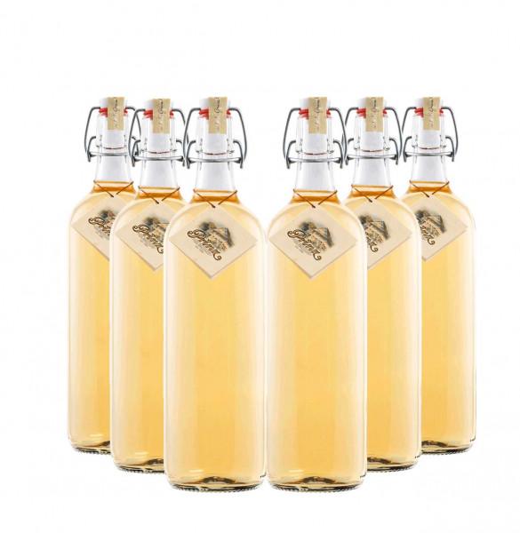 6 flaschen prinz alte williams birnen schnaps 1 0l. Black Bedroom Furniture Sets. Home Design Ideas