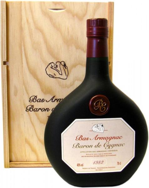 Armagnac Baron de Cygnac Jahrgang 1982