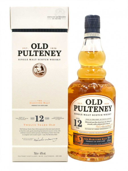 Old Pulteney Whisky 12 Jahre