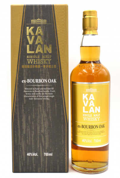 Kavalan Ex-Bourbon Oak 0,7l