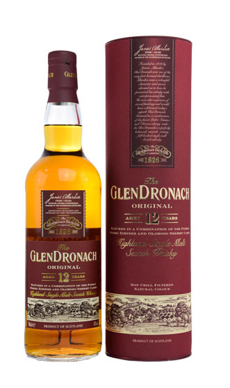 The Glendronach Whisky 12 Jahre 0,7l