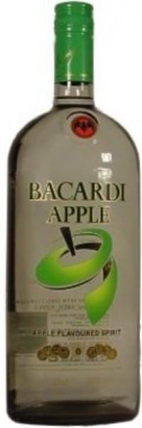 Bacardi Apple 1,0l - Spirituose mit Rum und Apfelaroma