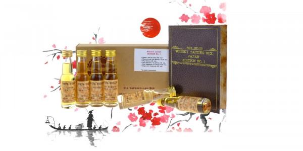 Whisky Tasting Box Japan 6x0,02l