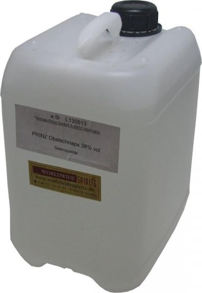Prinz Obstler 38% - 5 Liter Kanister Spirituose aus Österreich