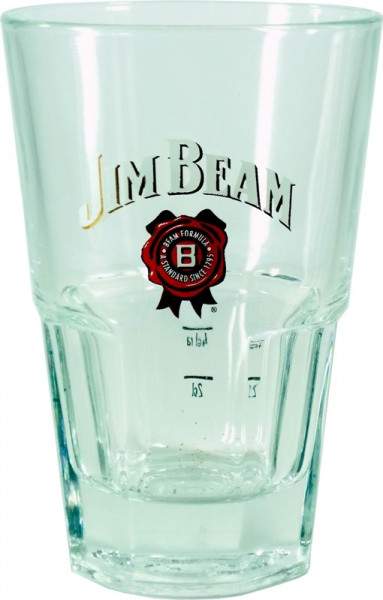 Jim Beam Bourbon Whiskey Glas