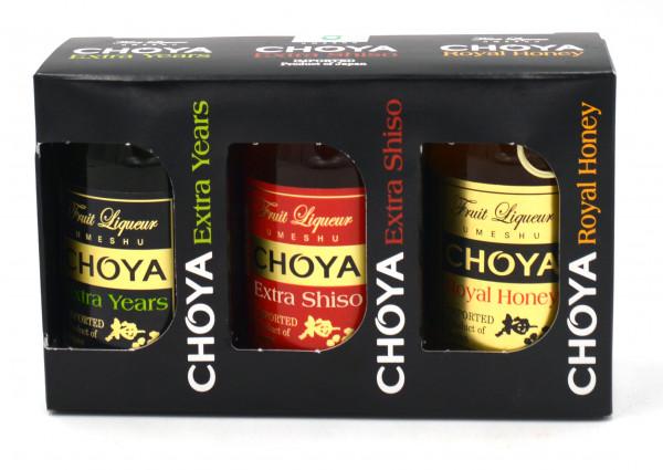 Choya Pio-Set 3x0.05l