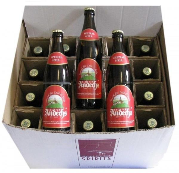 Andechser Spezial Hell Bier 20x0,5l