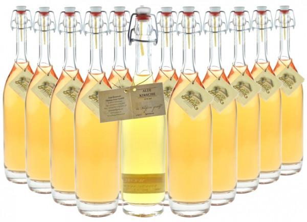 12 Flaschen Prinz Alte Kirsche 0,5l in Bügelflasche - im Holzfass gereift aus Österreich