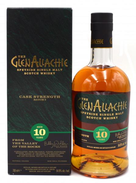 Glenallachie 10 Jahre Cask Strength Batch 2
