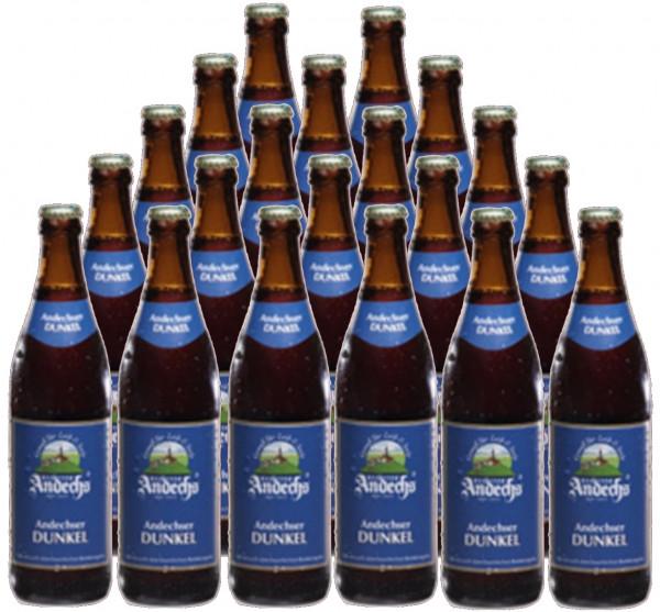Andechser Export Dunkel Bier 20x0,5l