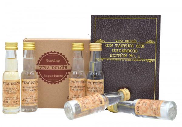Gin Tasting Box Underdogs 6x0,02l