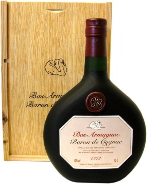 Armagnac Baron de Cygnac Jahrgang 1973