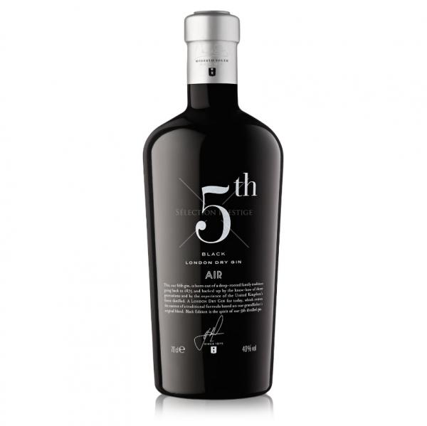 5th Air Black London Dry Gin 0,7l