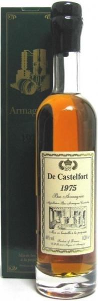 Armagnac De Castelfort Jahrgang 1975 abgefüllt im Jahr 2014/2016 - 38/40 Jahre im Fass gelagert