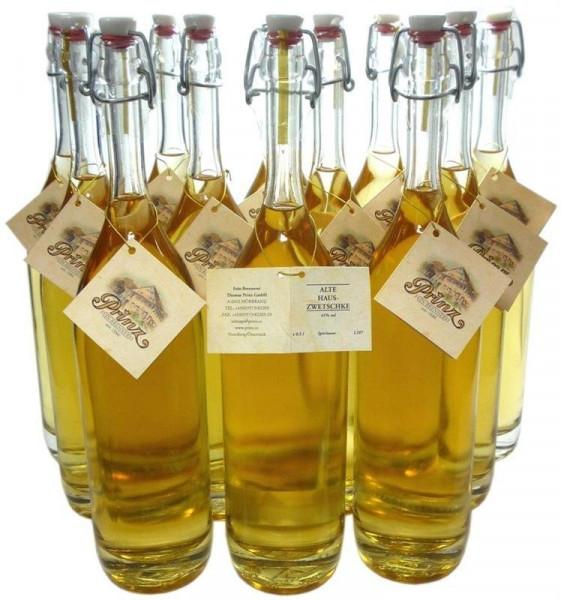 36 Flaschen Prinz Alte Hauszwetschke 0,5l - fassgelagert aus Österreich