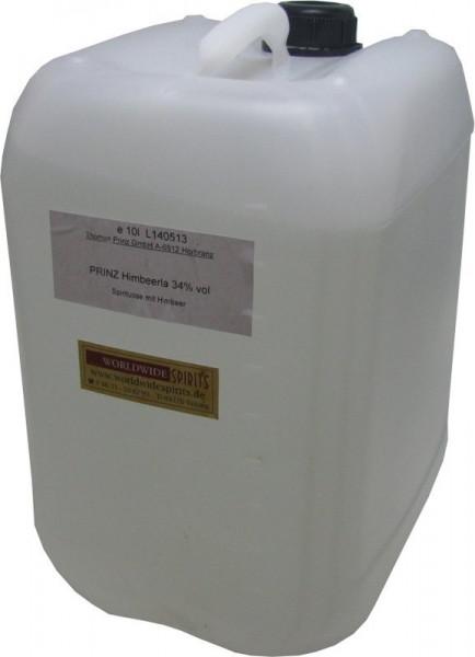 Prinz Himbeerla ( Himbeerschnaps ) 10 Liter Kanister Spirituose aus Österreich