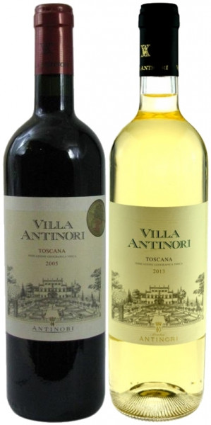 Villa Antinori Duo (1x Rosso Toscana, 1x Bianco) 2x0,75l