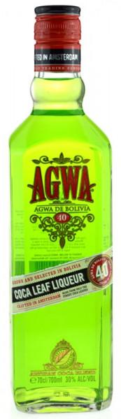 AGWA de Bolivia - Coca Leaf Liqueur/Likör