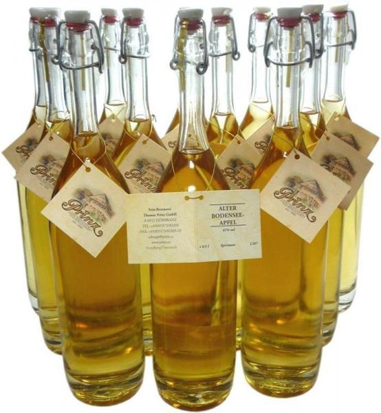 12 Flaschen Prinz Alter Bodensee Apfel 0,5l im Holzfass gereift aus Österreich