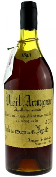 Vieil Armagnac Goudoulin Jahrgang 1893 - 1,5l Grossflasche