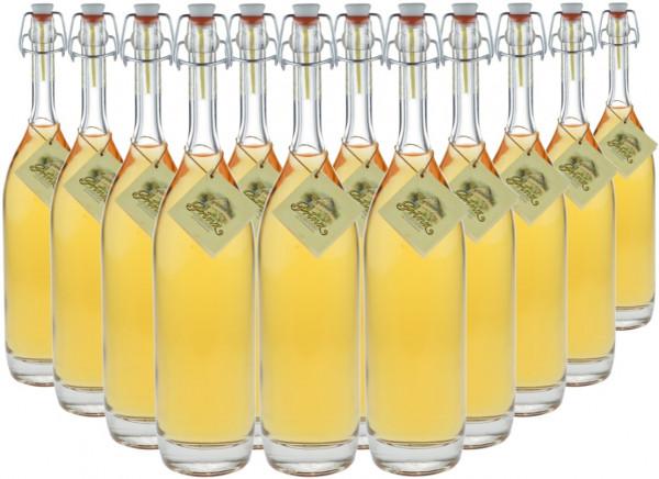 12 Flaschen Prinz Alte Haselnuss 0,5l in Bügelflasche - im Holzfass gereift aus Österreich