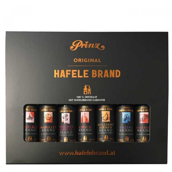 Prinz Die kleinen Hafele (7x Hafele Brände 0,04l) im Karton