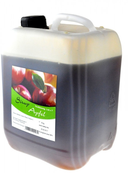 Alm Mand'l Apfel Sirup Kanister