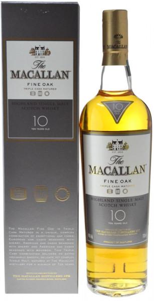 Macallan Whisky 10 Jahre Fine Oak