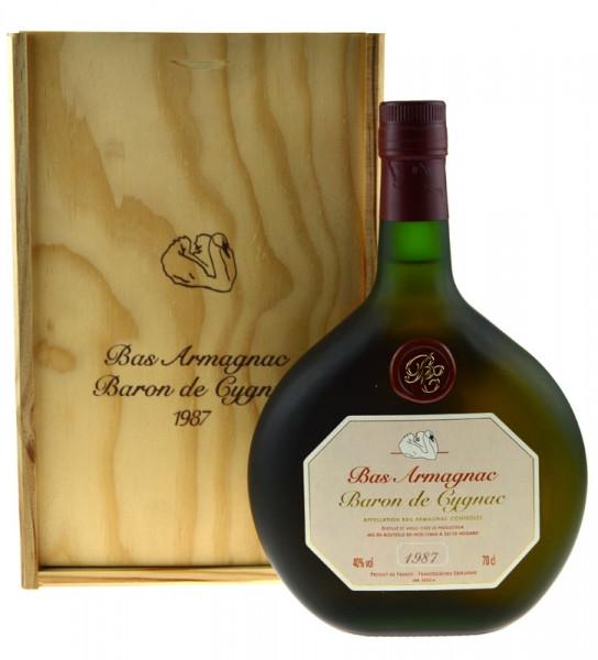 Armagnac Baron de Cygnac 0,7l Jahrgang 1987