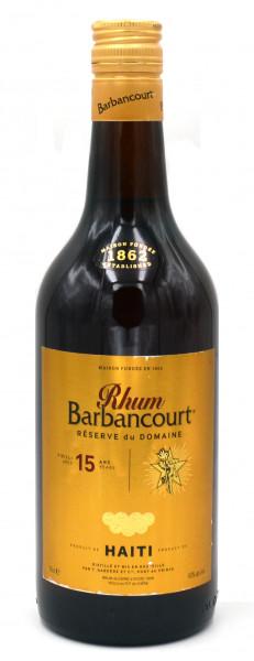 Barbancourt Rum 15 Jahre