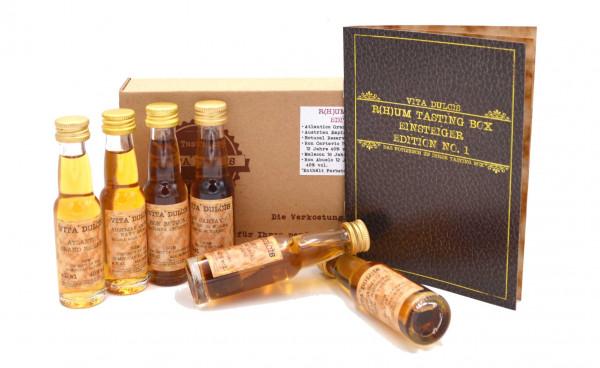 Rum Tasting Box Einsteiger 6x0,02l