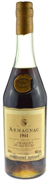 Armagnac Jahrgang 1944 Charles de Squeyre 0,7l mit Geschenkpackung