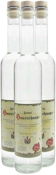 3 Flaschen Prinz Hausschnaps Marille 0,5l - Schnaps aus Österreich