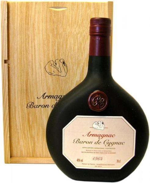 Armagnac Baron de Cygnac Jahrgang 1964