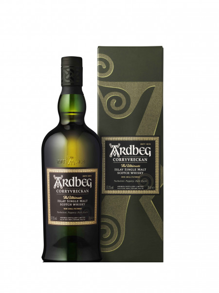 Ardbeg Corryvreckan 0,7l - 57,1% incl. Geschenkpackung - Islay Single Malt Scotch Whisky